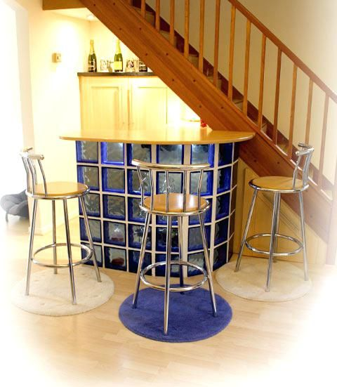 Under Stair Bar Ideas Designer Fitted Kitchen With Bar Area Bishops By Peter Kitchens Covering Laserkneep Bars For Home Kitchen Under Stairs Bar Under Stairs
