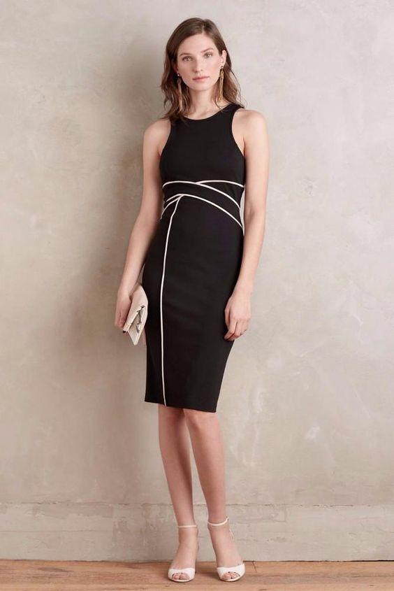 NEW ANTHROPOLOGIE $158 Size 12 Petite Cavatina Sheath Maeve Dress ...
