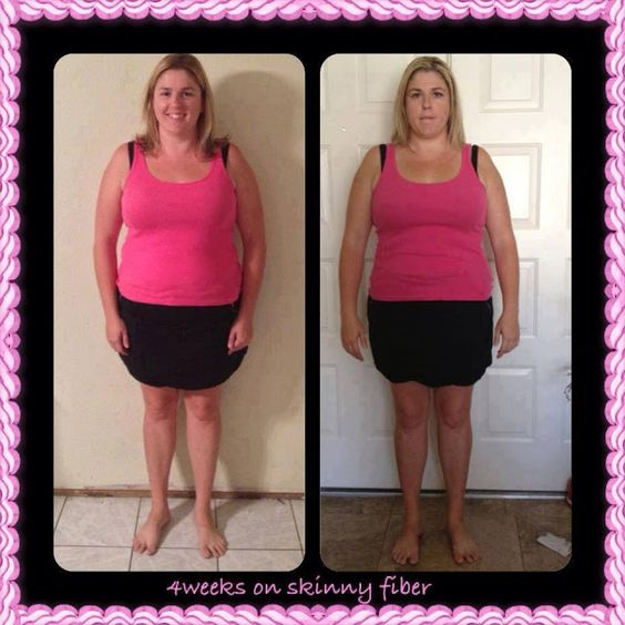 Weight Loss Success Stories: Check out Mary's 4 week testimonial.....Skinny Fiber Works!