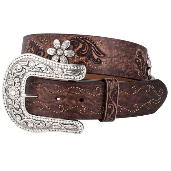 Country Daisy Belt    Simple and pretty with a touch of bling!