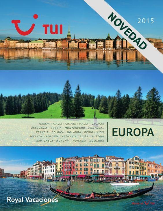Catálogos › Royal Vacaciones - TUI Spain, las mejores ofertas de viajes
