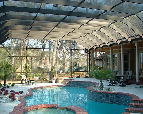 Pool enclosures contractor in Charleston, SC ~ Special Additions Inc | charleston sunrooms, screen rooms, pgt eze breeze vinyl windows, pool enclosures ~ Special Additions Inc. Summerville, SC
