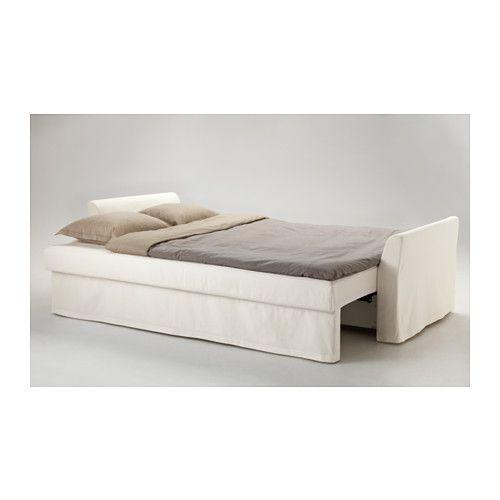 holmsund sleeper sofa, ransta white  ikea