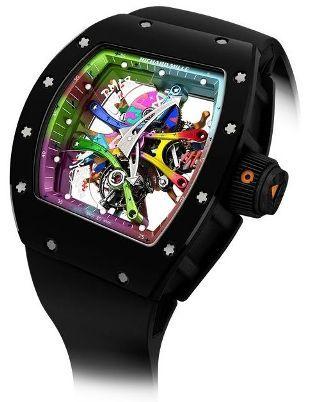 Luxury watches: Richard Mille RM 68-01 Tourbillon Cyril Kongo