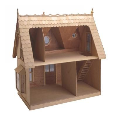 Null the orchid dollhouse kit home the o 39 jays and for Wallpaper kit home depot