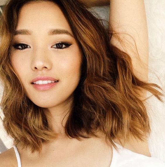 Perfect wavy hair / Jenn Im