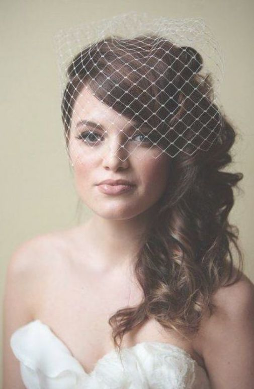 Wedding Hairstyles Vintage Birdcage Headpieces 32 Trendy Ideas