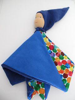 Schnuffelpuppe - doll for newborns