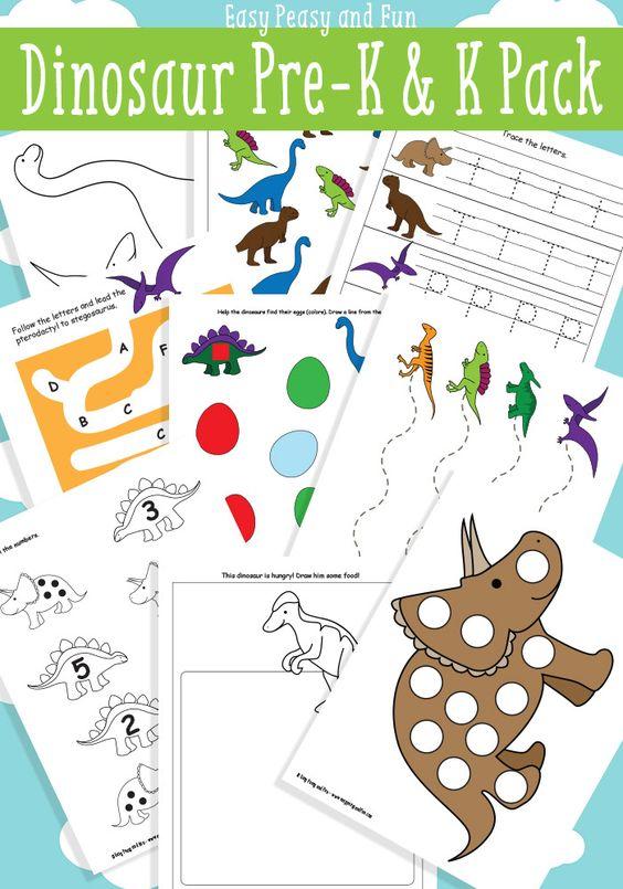 dinosaur printables for preschool literacy preschool and easy peasy. Black Bedroom Furniture Sets. Home Design Ideas