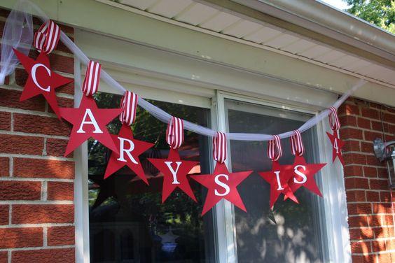American Girl birthday banner