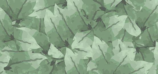 Folhas De Aquarela Definir Plano De Fundo