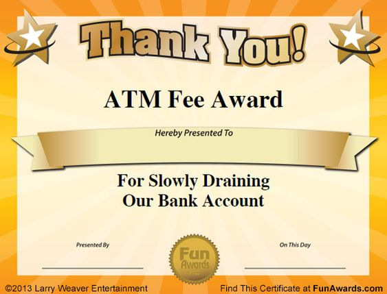 Free funny award certificates templates sample funny for Funny certificate templates