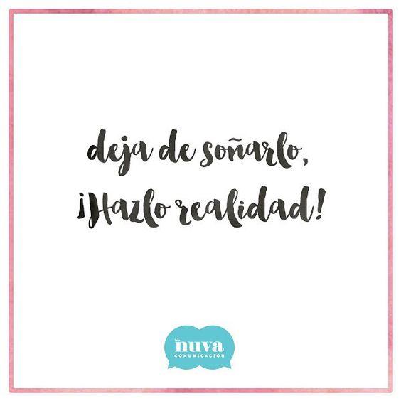 ¡Muy buenos días a todos los soñadores!  #holaNUVA #felizmartes #PositiveQuotes