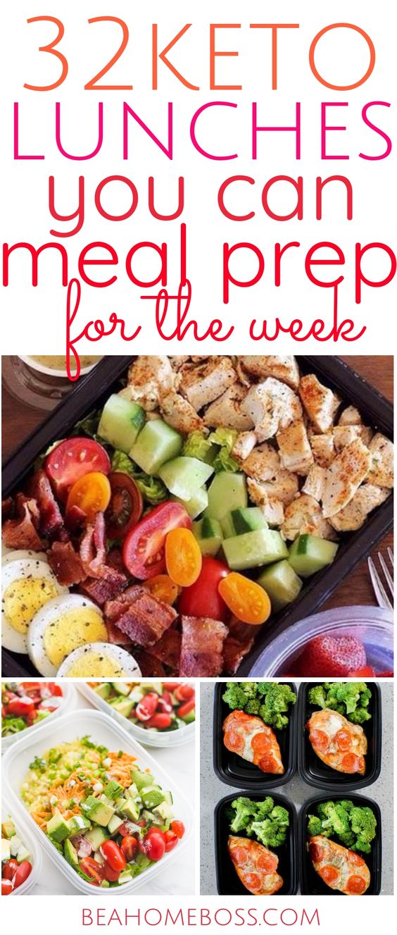 32 Keto Meal Prep Lunch Ideas for This Week
