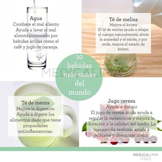 Bebidas sanas
