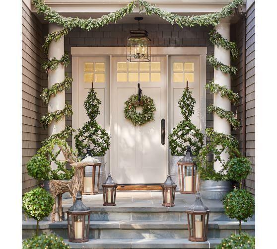 Park Hill Lantern Front Porch Christmas Decor Christmas Porch Decor Front Porch Decorating