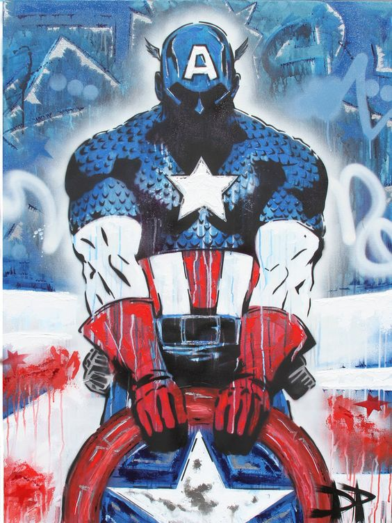 Captain America by DPNYC on deviantART