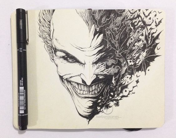 An Awesome Collection of Moleskine Sketches by Kerby Rosanes