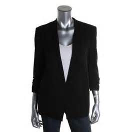 Helmut Lang Womens One-Button Blazer Black | Kevin From Work