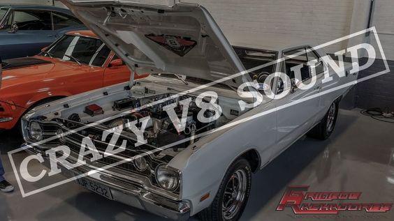 GRINGOS RACHADORES   CRAZY DODGE DART V8 SOUND