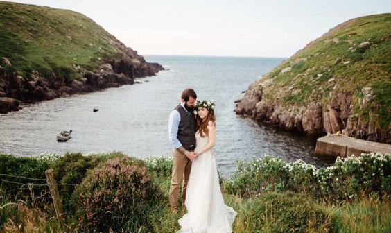 plage mariage