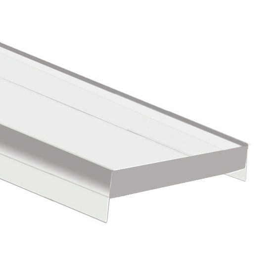 6.56 ft. Clear Mounting Channel Lens - HS Cover