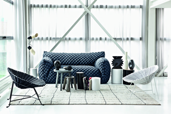 The Nuvola sofa by Paola Navone