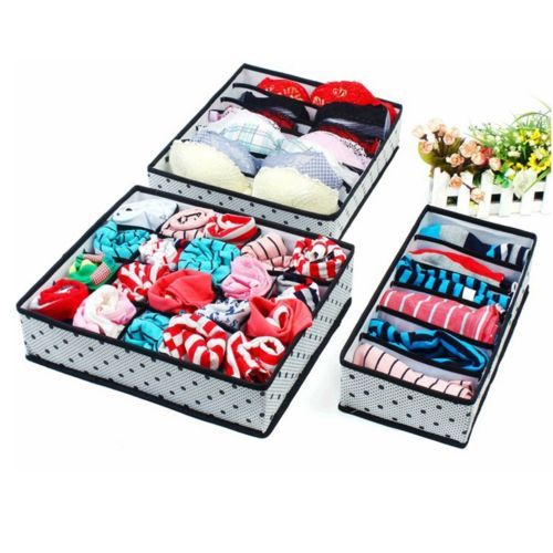 3Pcs-Underwear-Socks-Tie-Bra-Glove-Closet-Organizer-Storage-Box-Drawer-Container