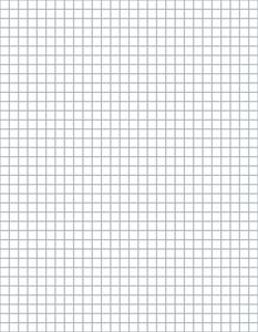 This free graph paper is suitable for designing crochet charts; it works for tapestry crochet, filet crochet, and other crochet techniques.