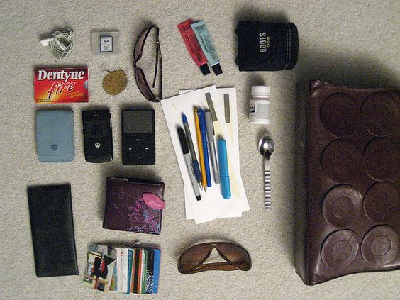 In response to Colette's question, this is what is in my purse.  www.flickr.com/photos/diagonalsleeper/2266043726/     Purses Every Women Should Have: http://mastermindmarketspro.com