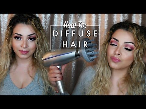 Styling Hair With A Diffuser Is Simple This Guide On How To Use A Diffuser On Straight Curly Wavy Natural Hair Will Teach In 2020 Hair Wavy Hair Straight Wavy Hair
