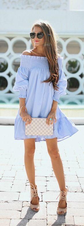 Fresh Blue Clothes