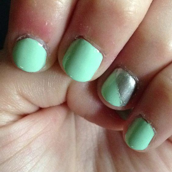 mint sorbet nails