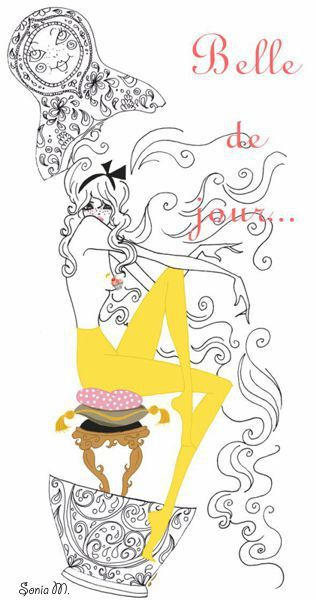 Sonia Menti illustration Ces petits riens