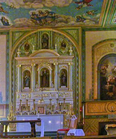 Quick Guide to Mission Santa Clara: for Visitors and Students: Mission Santa Clara Altar Picture