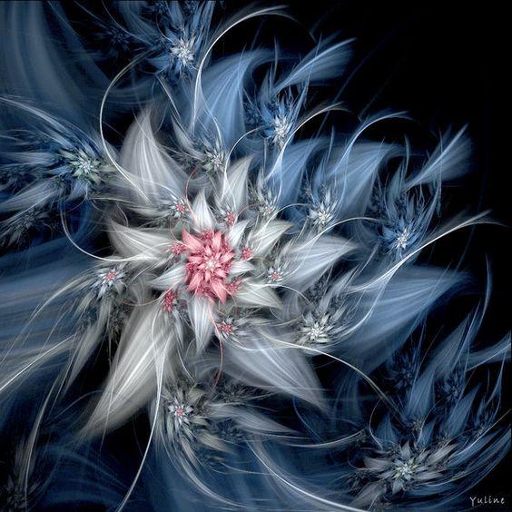 Fractional art by ~Yuline~ Fairy Flower III