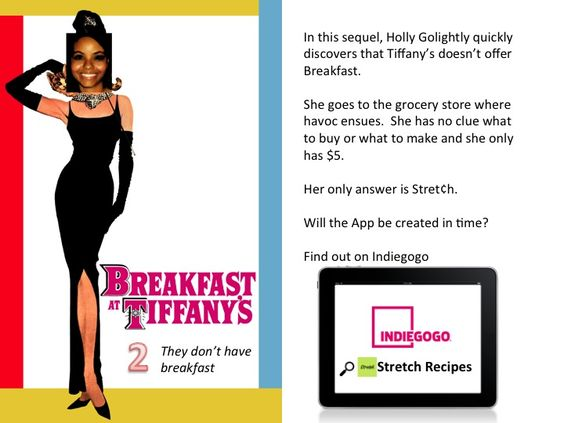 Breakfast at Tiffany's 2: They don't have breakfast