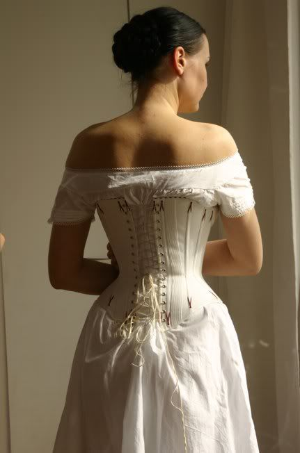 Before the Automobile: Early bustle underwear, 2008