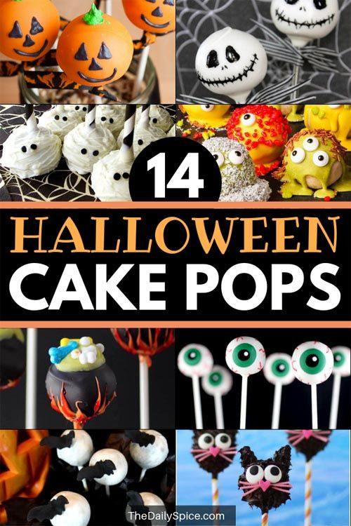 14 Halloween Cake Pops Ideas Easy Halloween Treats Halloween
