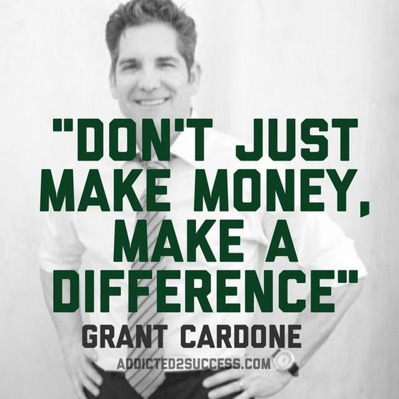 Don't just make money... @GrantCardone #quote #10X #success https://t.co/Eoh7ET4S6d https://t.co/U3mttoC7iO