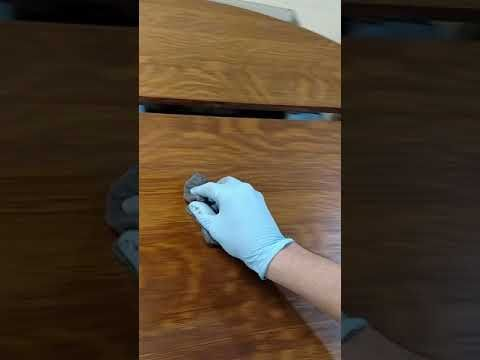 How To Lighten Dried Oil Based Stain Youtube Dark Wood Stain Staining Wood Oil Based Stain