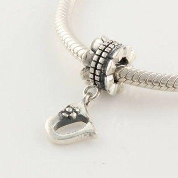Pandora Alphabet Charm U Silver