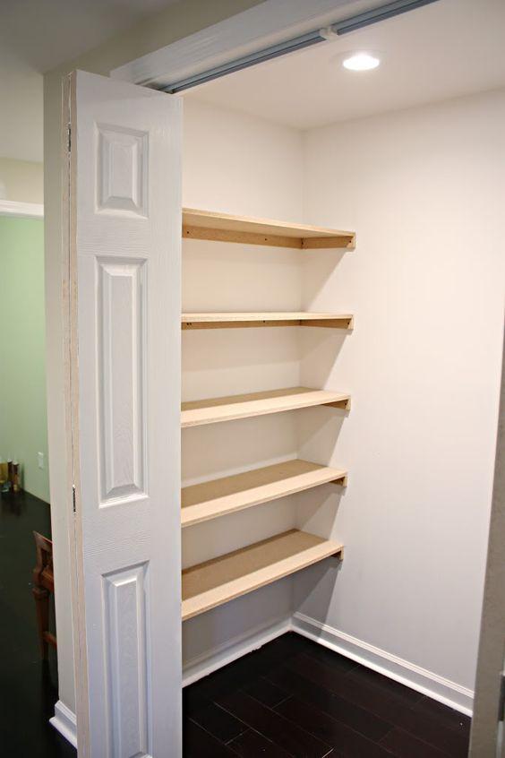 closet organization shelves alcove closet and how to build