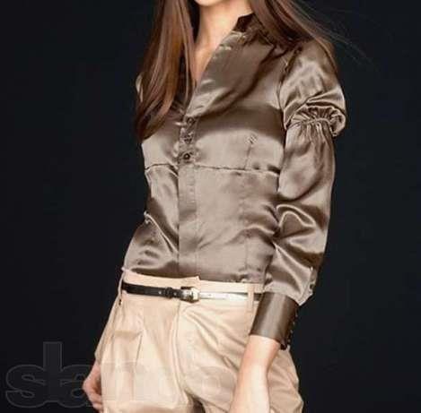 Шелковая блузка apart