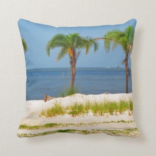Beach Themed Throw Pillows Zazzle Com Throw Pillows Pillows