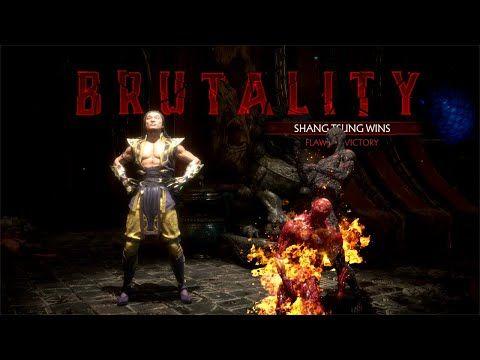 Mortal Kombat 11 Shaolin Trap Dungeon Brutality On All Characters Youtube Shaolin Mortal Kombat Character