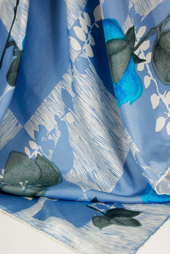 Vintage Silk Scarves -  2goodponies.etsy.com