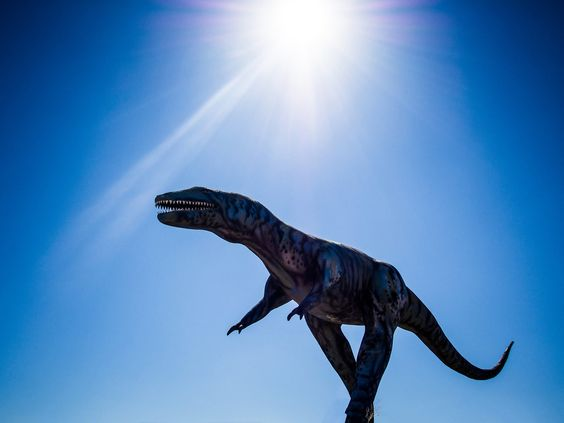 Dino in New Mexico