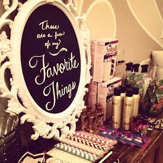 Favorite Things Party  Can even do different themes (makeup, beauty, kids, restaurants, ect.)