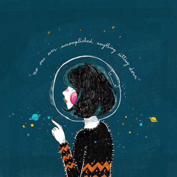 Kathrin Honesta es una ilustradora de originaria de Indonesia. Ella segraduó en Diseño gráfico e ilustración en Kuala Lumpur, Malaysia. Sus ilustraciones nos cuentan historias de personas con fe. Ella es creyente de Dios por lo cuáltiene un gran influencia en su trabajo. En su trabajo no importa únicamente que sea bonita, lo …: